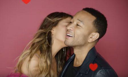John Legend e Chrissy Teigen em versão Dia dos Namorados
