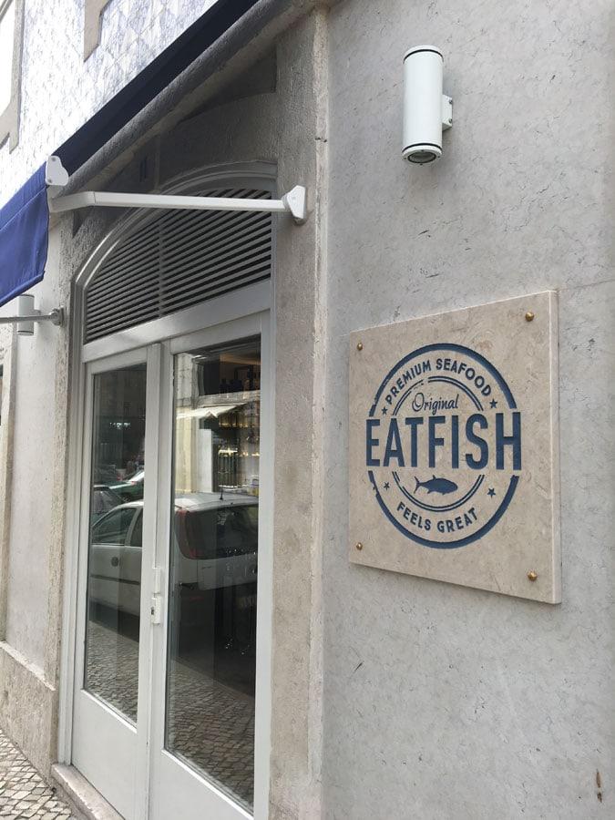 Eatfish peixe fresco no Cais do Sodré
