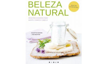 'Beleza Natural', um livro de receitas de produtos de beleza