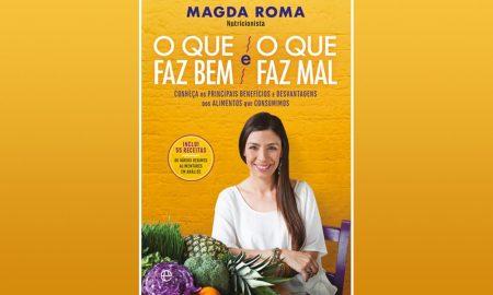 O novo livro de Magda Roma