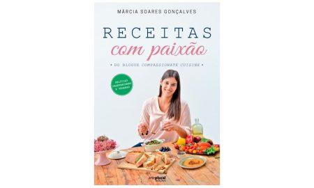 'Receitas com Paixão', o novo livro de Márcia Soares Gonçalves
