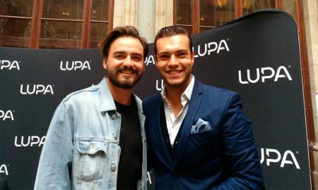 Zé Carlos Taipa, Creative Stylist da Lupatyling, e Diogo Azevedo, responsável de marketing da Lupabiológica