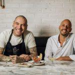 Chef Vitor Hugo e Nuno Correia Pereira
