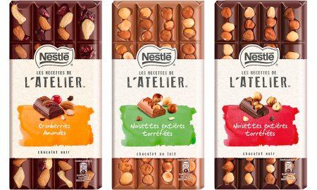 Novos chocolates Nestlé