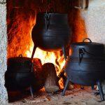 Adega dos Apalaches A cozinha a Ferro e Fogo
