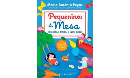 'Pequeninos à mesa – Receitas para o seu bebé', €19,99, Editora Vogais, à venda a partir de dia 22 de janeiro.