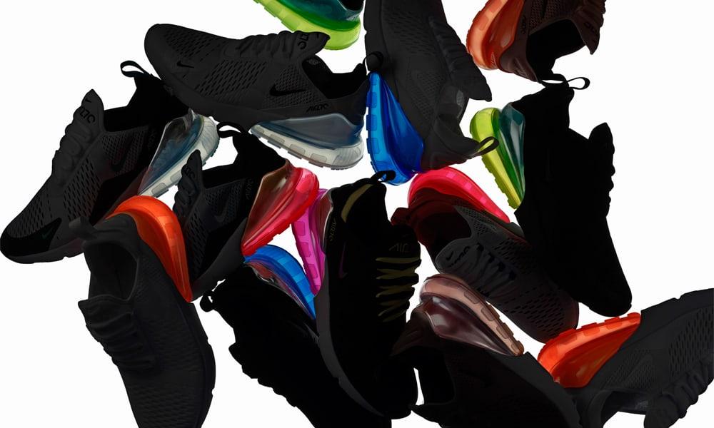 46fa5c101b7 Inspirados pelos icónicos Nike Air Max do início dos anos 90