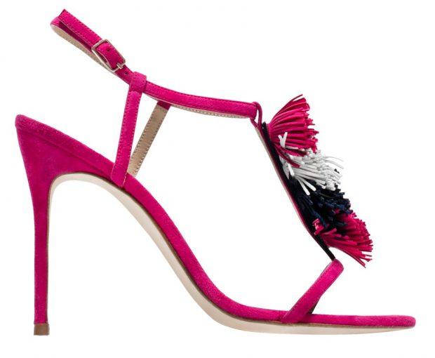 Sandálias em camurça, Carolina Herrera €242 (PVP €345)