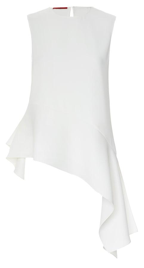 Top em algodão, Carolina Herrera €137 (PVP €195)