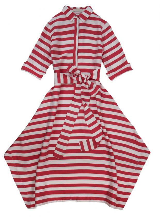 Vestido em seda, Purificacion Garcia €237 (PVP €338)