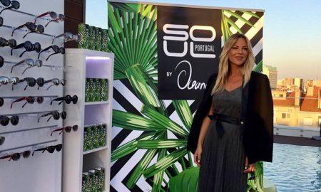 Oceana Basílio lança linha de óculos de sol