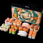 Aruki Sushi x Mário Belém_Caixa e menu