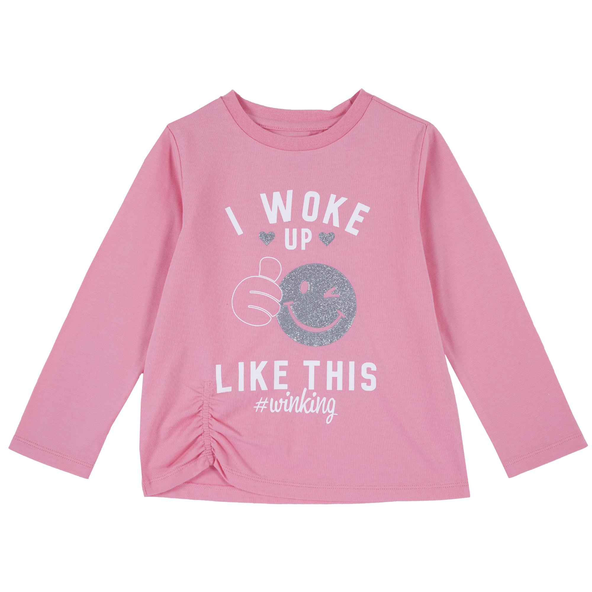 T-shirt Comprida Rosa – 9,99€