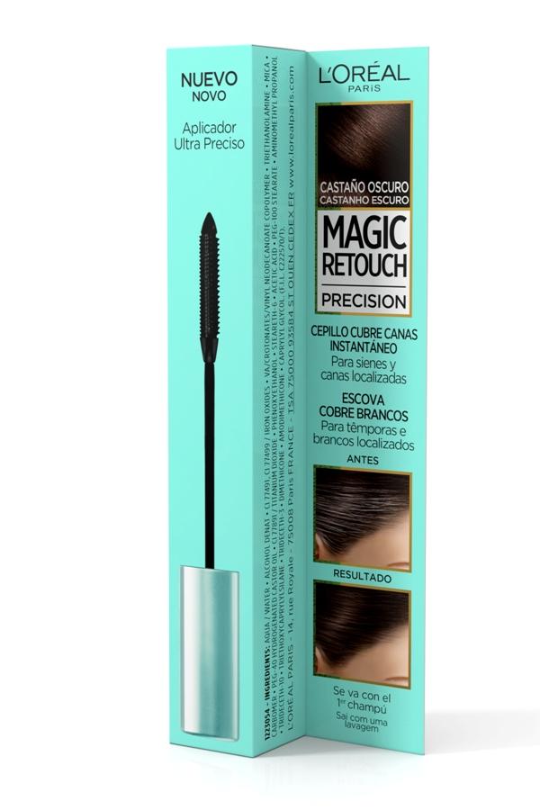Magic Retouch Precision Castanho Escuro para cobrir cabelos brancos , L'Óreal Paris €11.99