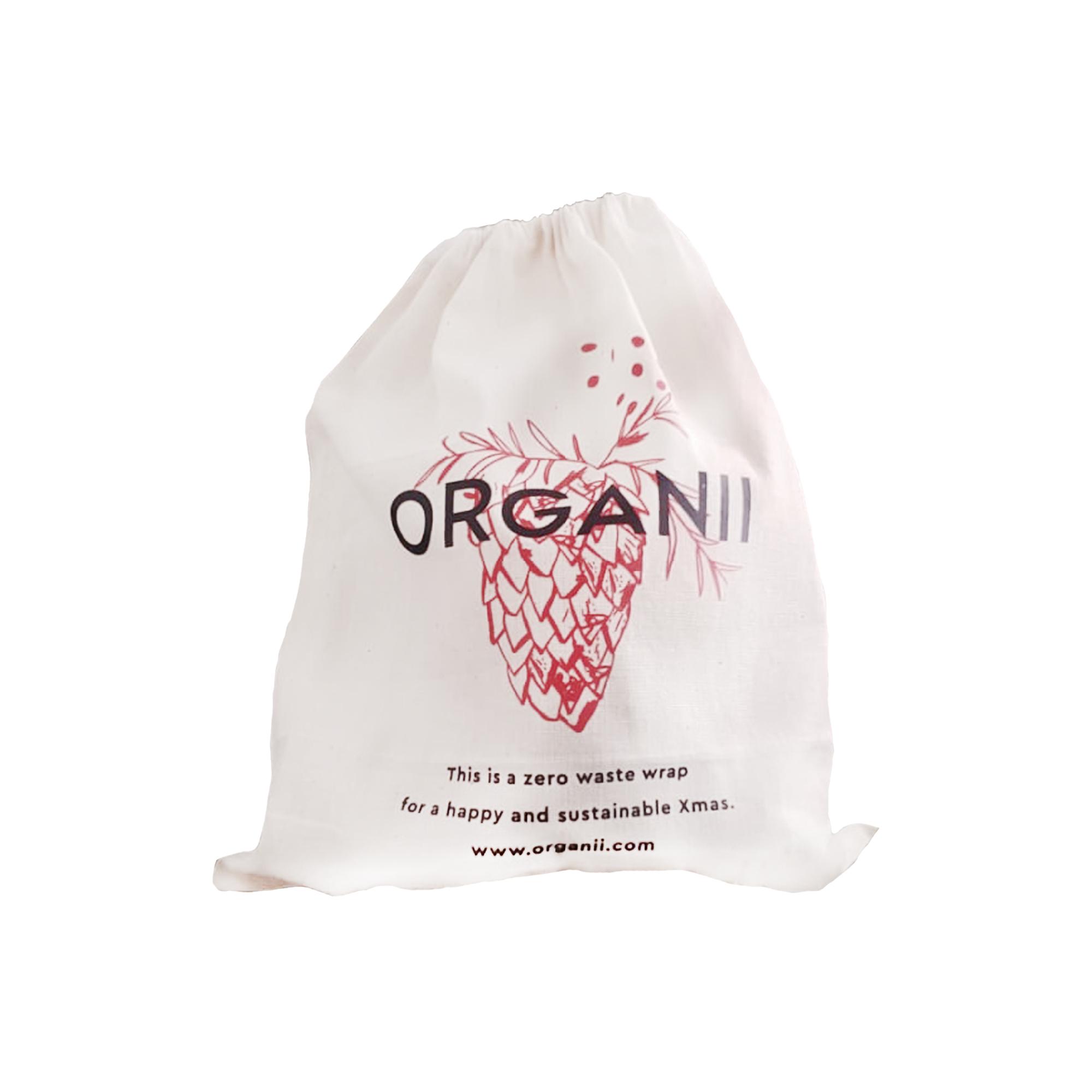 Zero Waste Bag (champô sólido cabelos normais + sabonete argila e alecrim da Unii + dentrífico de menta da Lamazuna + eEsponja para rosto 100% pura Konjac + escova de dentes HidroPhil), Organii, €24,9