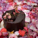 Mini-bolo BRIGADEIRANDO de chocolate, recheado com brigadeiro flor de sal e coberto com brigadeiro tradicional, €35