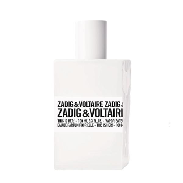 Zadig This is Her, Zadig & Voltaire, €68,99 (100ml), antes €98,55
