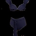 Biquíni Arrábida em licra cinzento, €99, Bohemian Swimwear
