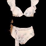Biquíni Arrábida em licra estampado, €99, Bohemian Swimwear