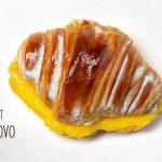 Croissant com Doce de Ovo