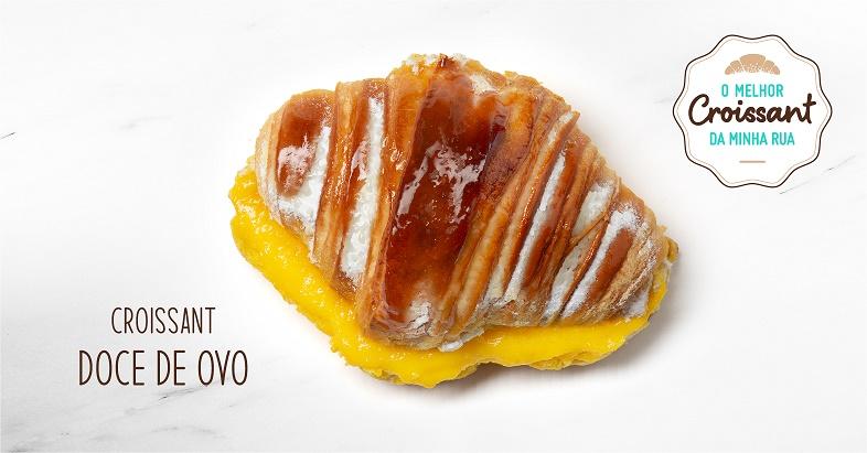 Croissant com Ovo