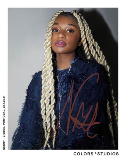 Collector's edition: NENNY (@nenny__on) via @colorsxstudios