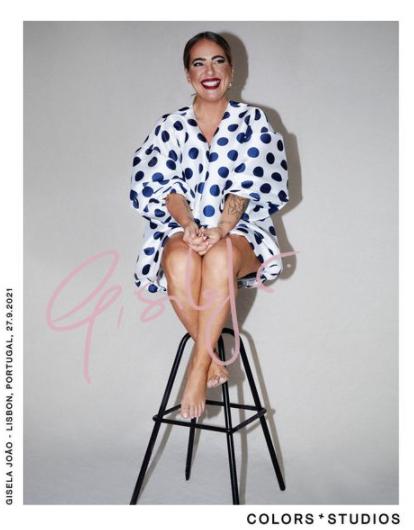Collector's edition: Gisela João (@giselajoaoaberdadeira|) via @colorsxstudios