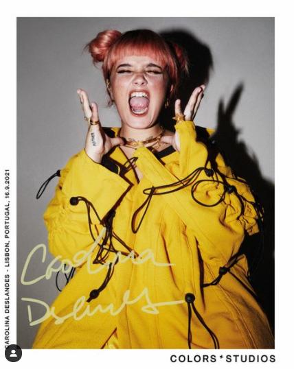Collector's edition: Carolina Deslandes (@carolinadeslandes) via @colorsxstudios