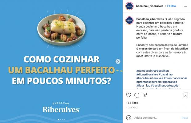 Campanha nas redes sociais. Riberalves